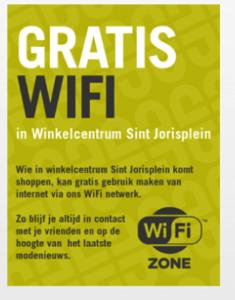 Grtis WiFi Sint Jorisplein Parkeren