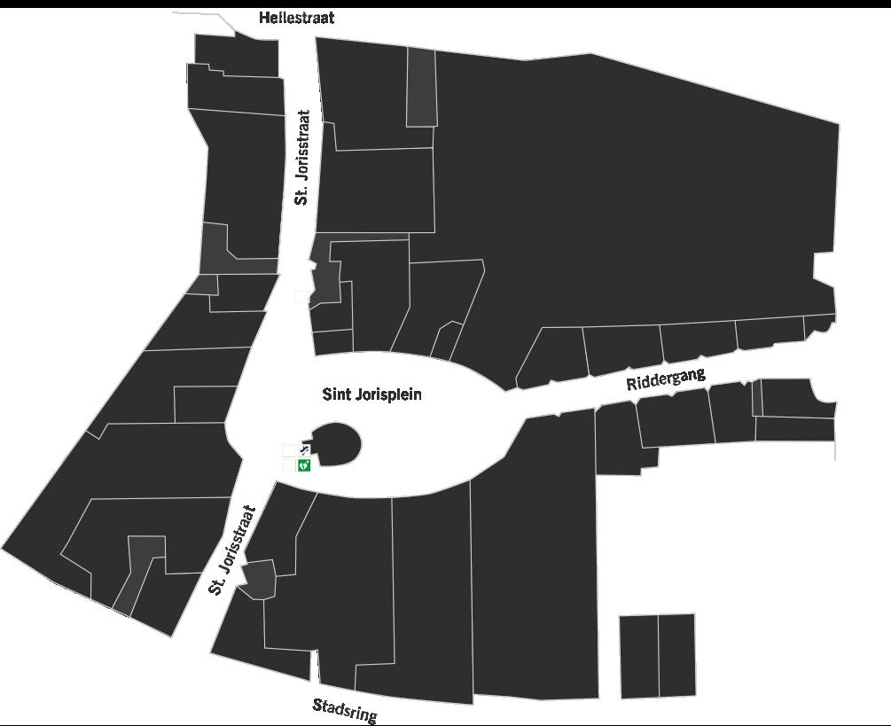 Jorisplein plattegrond