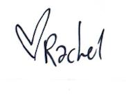 Rachel Heek handtekening Blog Sint Jorisplein Amersfoort