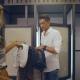 Rachel Heek Shopt heren outfit op Sint Jorisplein